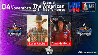 Programa LNR TV 04/11/2020 The American 2019 - Três Tambores