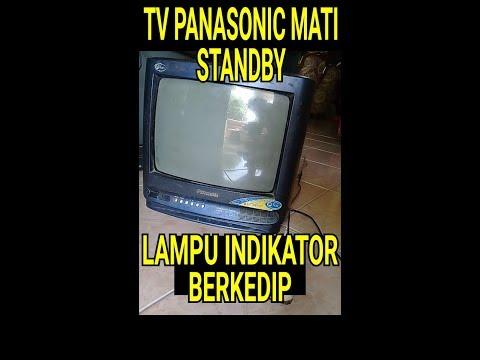 Cara Tutorial Memperbaiki Tv Panasonic Gejala Lampu Indikator Berkedip Atau Protek