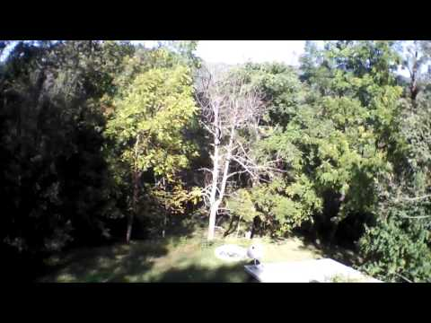 High Ridge Cabin Stanley, VA AR.Drone 2.0 Video: 2015/10/07