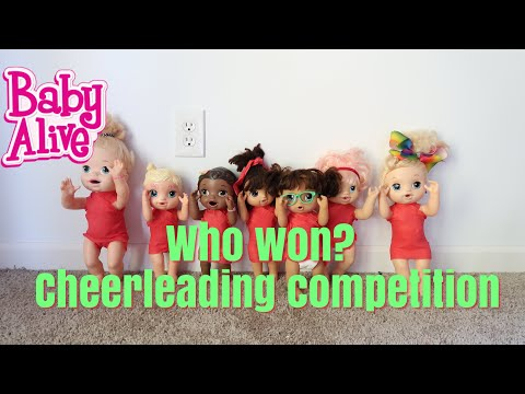 WHO WON?? BABY ALIVE Cheerleading Competition baby alive videos