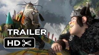 How To Train Your Dragon 2 TRAILER 1 (2014) - Gerard Butler Sequel HD