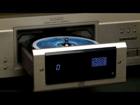 sony cdp xa50es cd player with puck youtube. Black Bedroom Furniture Sets. Home Design Ideas