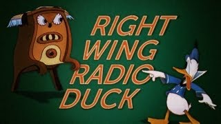 Donald Duck Meets Glenn Beck in Right Wing Radio Duck thumbnail