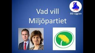 Vad vill Miljöpartiet? MP [En kort och enkel sammanfattning] Valet 2018