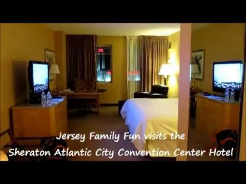 Sheraton Atlantic City Convention Center Hotel Room Tour