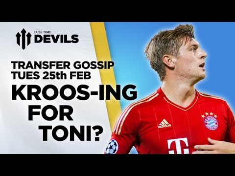 Kroos-ing For Toni? | Manchester United...