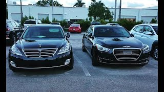 Hyundai Equus vs Genesis G90 - What's the better choice?