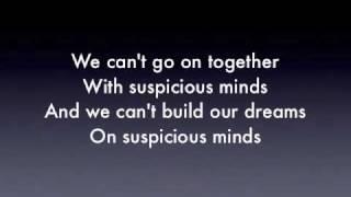 Elvis Presley Suspicious Mind (Cover)
