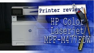 Best all in one printer / scanner / copier I've owned! - HP Color Laserjet Pro MFP M477FDW