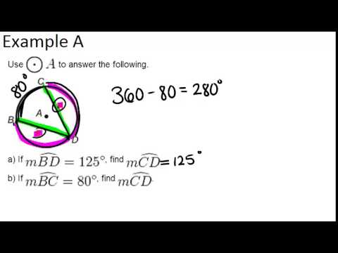 Chords In Circles Examples Geometry Concepts Youtube