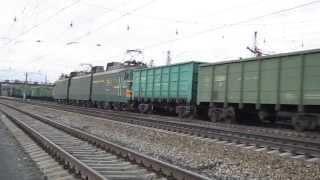 Электровоз ВЛ11-548 с приветом