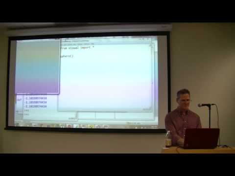 Learning Math and Science Using Python (December 2013)