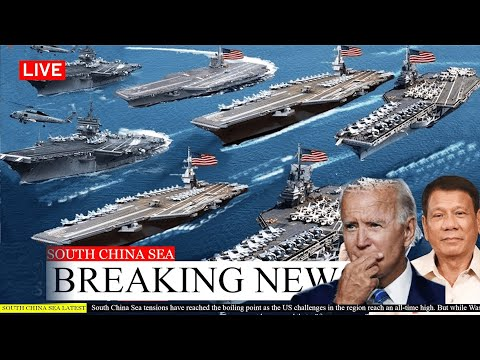 US Marines Command Drops 38 Amphibious Ships to Storming South China Sea Island