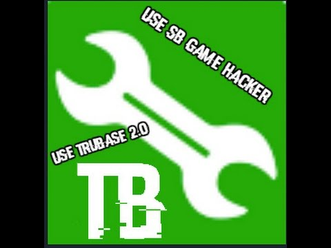 How to use SB Game Hacker + TruBase app