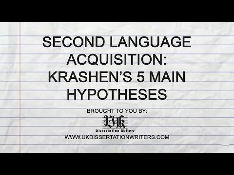 Second Language Acquisition: Krashen