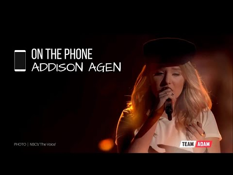 Top 8 interview with Addison Agen