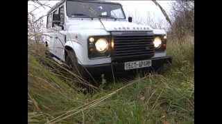 тест драйв Land Rover Defender LXV