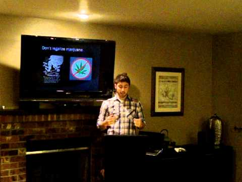Persuasive Speech- Against Marijuana legalization - YouTube