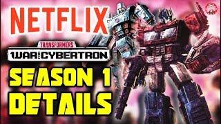 Netflix Transformers: War For Cybertron - SEASON 1 Details REVEALED