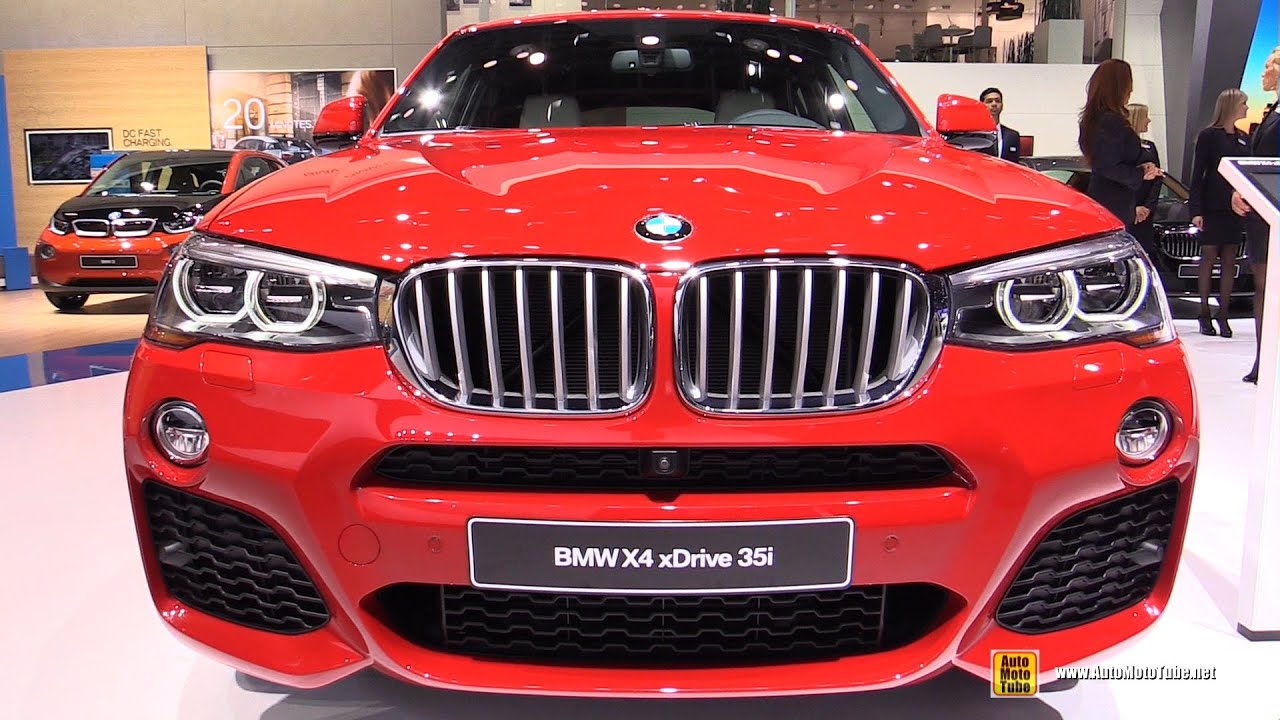 2017 Bmw X4 35i Xdrive M Sport Package Exterior And Interior Walkaround Detroit Auto Show You