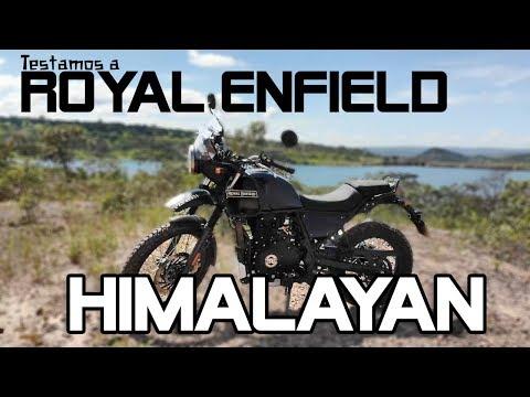 ROYAL ENFIELD HIMALAYAN É UMA BOA MOTO? / Vrum Brasília