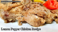 Lemon Pepper Chicken Recipe | Murgh Kali Miri Recipe In Hindi