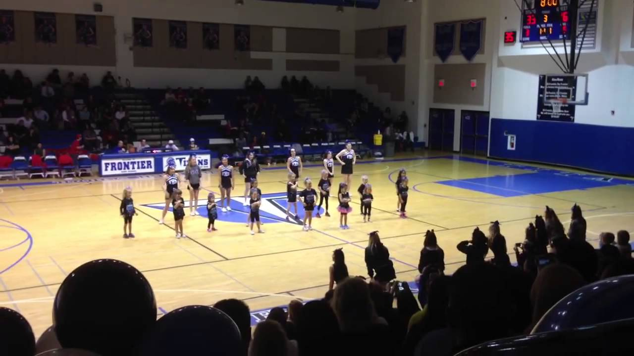 Jr Titan Cheerleaders 2 6 Frontier High School 2013 Youtube