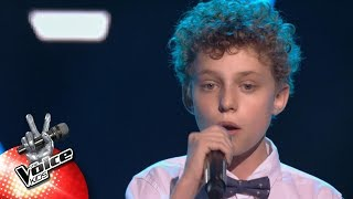 Mathias - 'Attention' | Blind Auditions | The Voice Kids | VTM