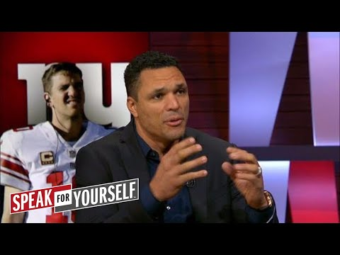 Tony Gonzalez on the Giants firing McAdoo, Eli's future in New York | SPEAK FOR YOURSELF