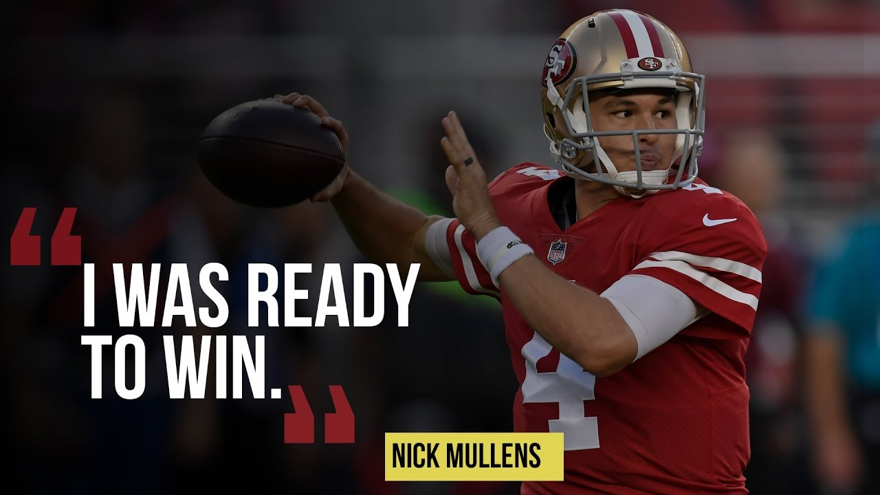 timeless design d3a30 7d35d 49ers' Nick Mullens leads victory over lifeless Raiders