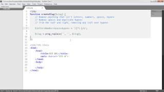 PHP SEO Slug URL Generator