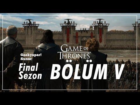 """""""BAK NE OLDU ŞİMDİ?"""" Game of Thrones // Final Sezon - Bölüm V İnceleme"""