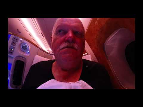 EMIRATES BUSINESS CLASS TO PHUKET  WHAT,S IT LIKE ON AIRBUS 380
