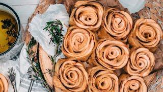Красивый Пирог с Розами из яблок | Очень вкусный Рецепт  пирога с яблоками