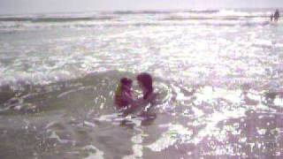 Beach Trip: Soaking Up The Water