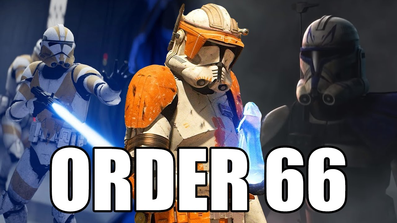 Order 66 Extended Star Wars The Clone Wars Revenge Of The Sith Jedi Fallen Order Youtube