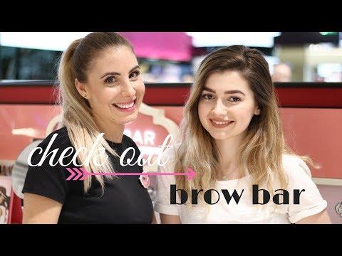 Benefit Brow Bar / Cum se desfasoara un proces complet de stilizare a sprancenelor
