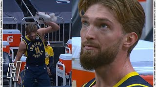 Domantas Sabonis Gets Very Frustrated After Getting Fouled Out - Jazz vs Pacers | February 7, 2021