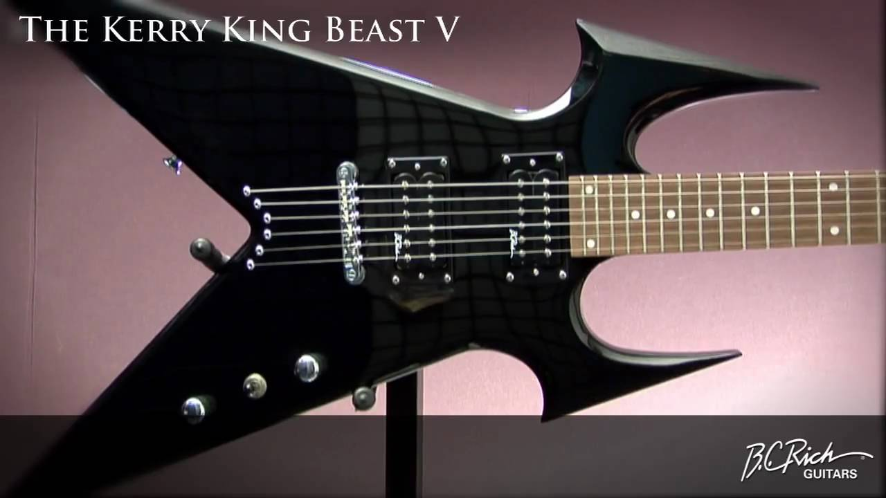 bc rich kerry king beast v2 youtube. Black Bedroom Furniture Sets. Home Design Ideas