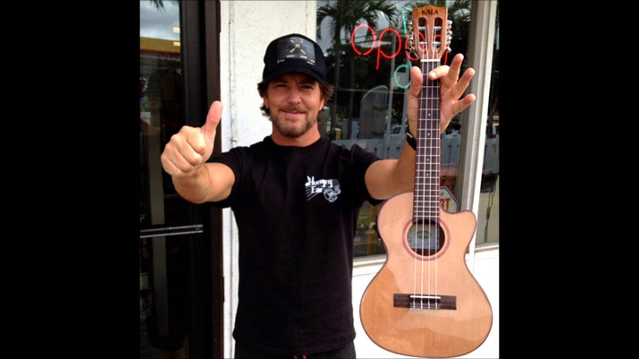 Eddie vedder ukulele song track isolated pearl jam youtube eddie vedder ukulele song track isolated pearl jam hexwebz Choice Image