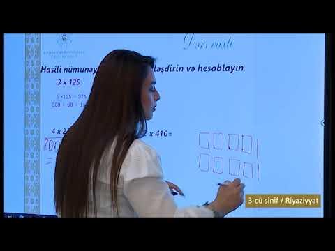 """""""Dərs vaxtı"""": 3-cü sinif dərsləri  (18.03.2021)"""