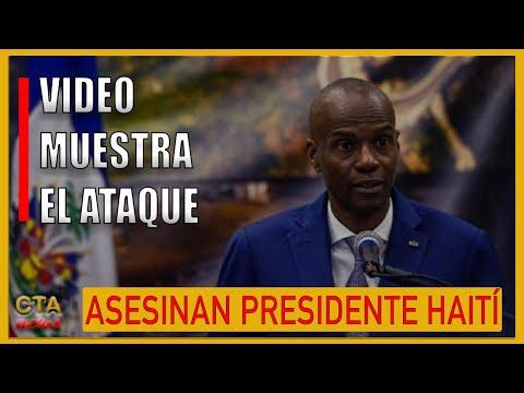ASESINAN PRESIDENTE HAITÍ: PRIMERA DAMA RESULTO HERIDA DE BALA TRAS EL ATAQUE