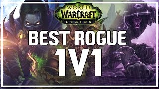 BEST ROGUE 1V1 PVP SPEC - World of Warcraft Legion Beta(Hey guys! I've been getting a specific question asked of me recently regarding Rogues. A lot of players who play Rogues love to play the Lone Wolf in PvP, be it ..., 2016-08-22T14:00:01.000Z)
