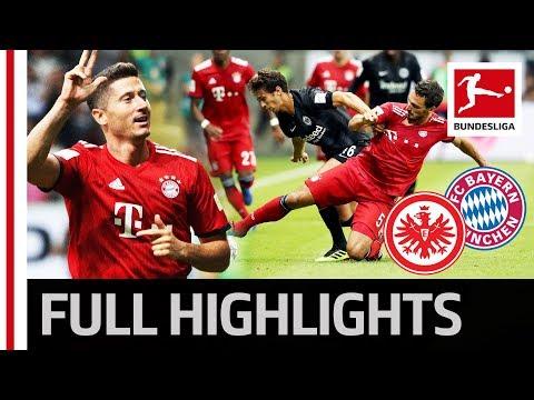 Eintracht Frankfurt vs FC Bayern München | 0:5 | Highlights | Supercup 2018