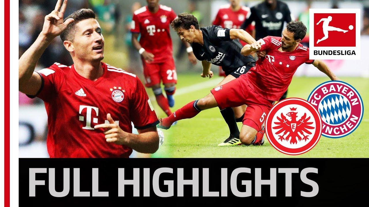 Eintracht Frankfurt vs FC Bayern München | 0:5 ...