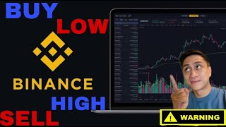 BINANCE SIMPLE BUY AND SELL SPOT TRADING SAMPLE