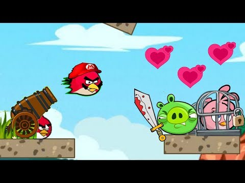 Angry Birds Heroic Rescue - FULL GAME WALKTHROUGH RESCUE STELLA!