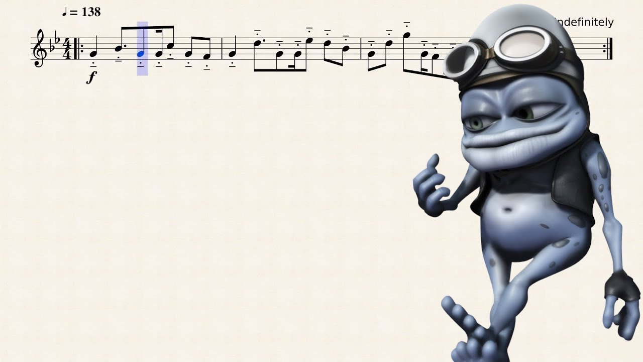 Axel F For Bb Trumpet