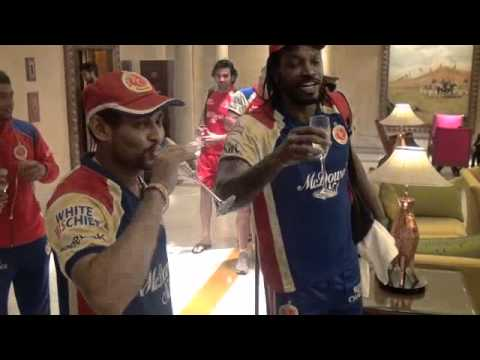 Big win Over Delhi DareDevils. Celebration Video.