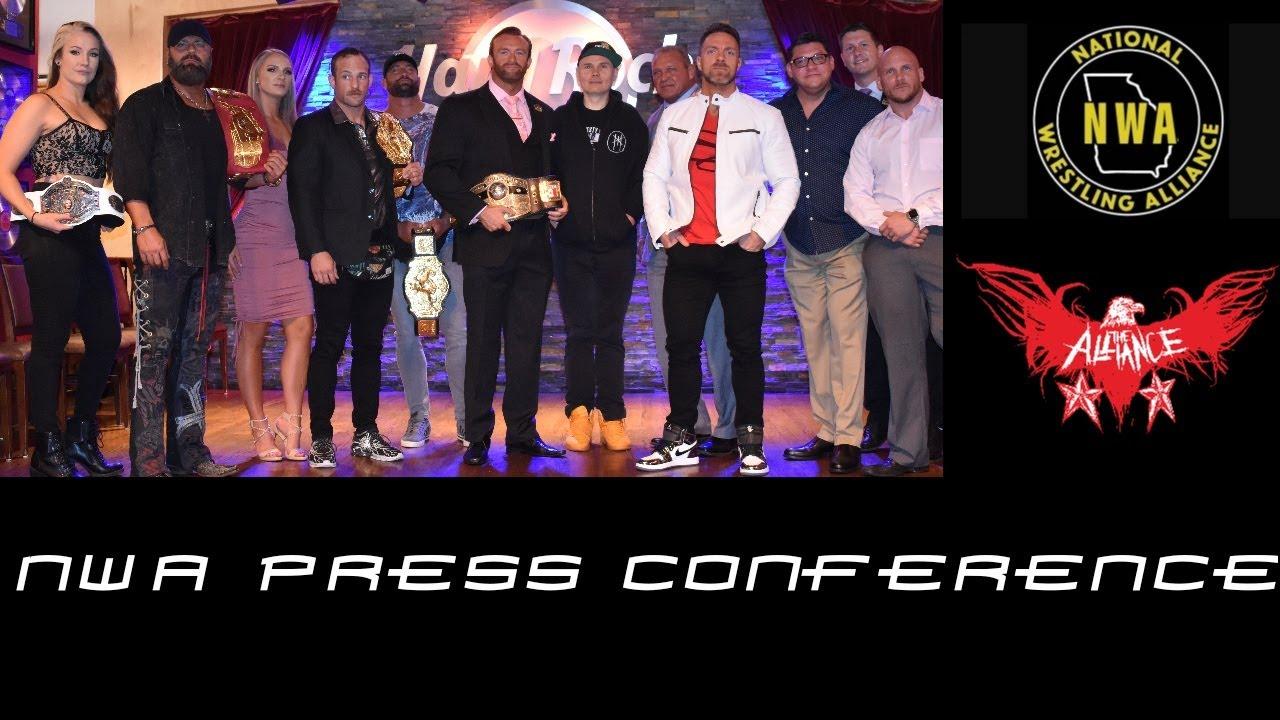National Wrestling Alliance Press Conference September, 30th 2019